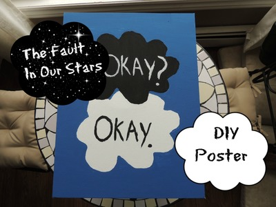 DIY | The Fault in Our Stars Poster
