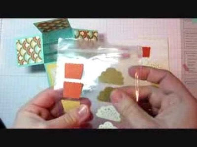 """Easy Card in a Box Tutorial (4"""" x 4"""" size)"""
