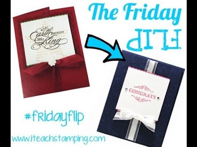 Friday Flip:  Using Simply Wonderful with Something Lacy (Stampin' Up!)