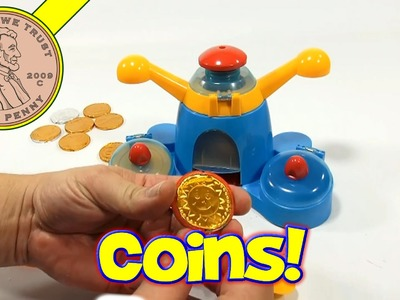 Golden Coin Maker Set - Make Your Own Chocolate Coins! - John Adams