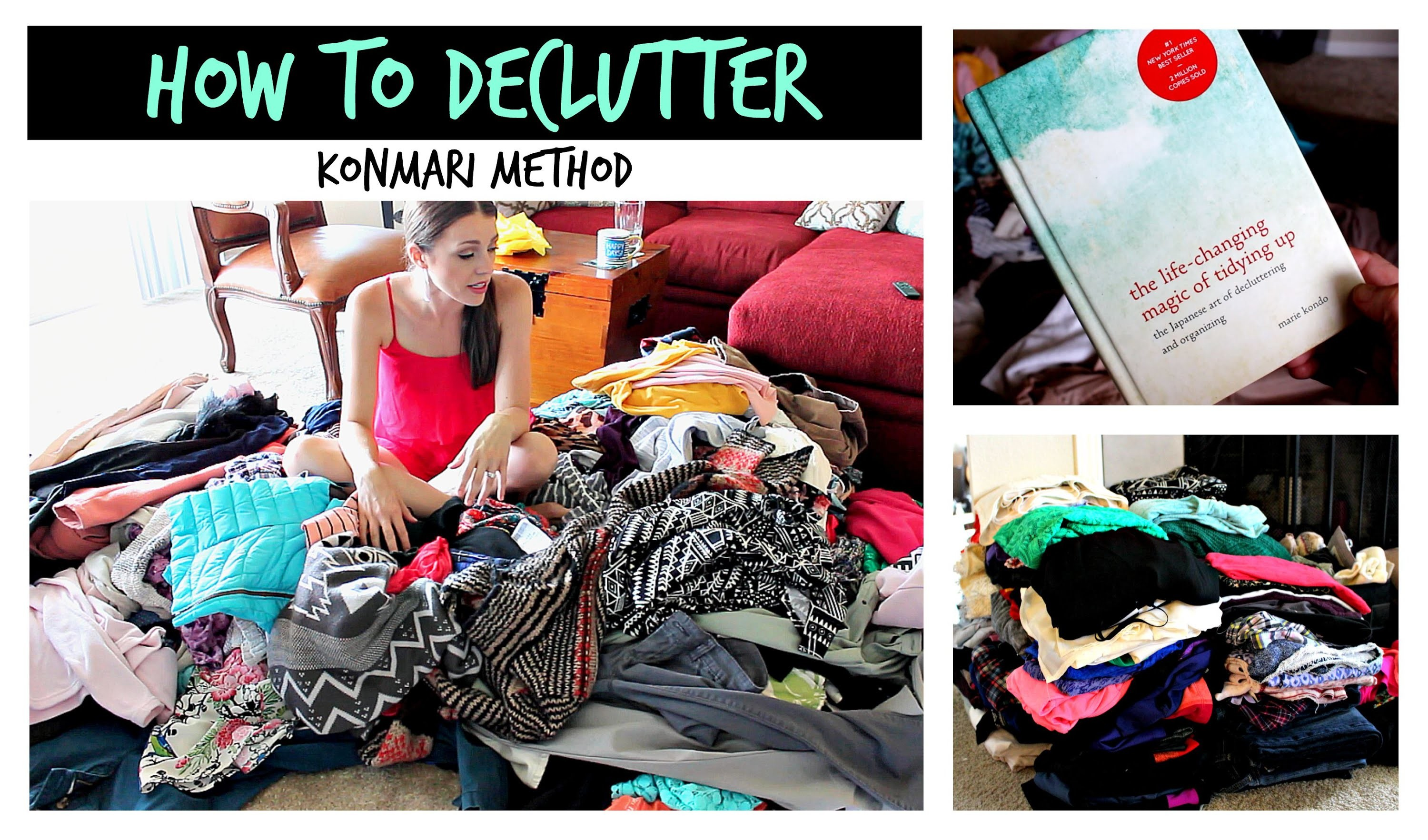 How to Declutter Your Closet | KonMari Method