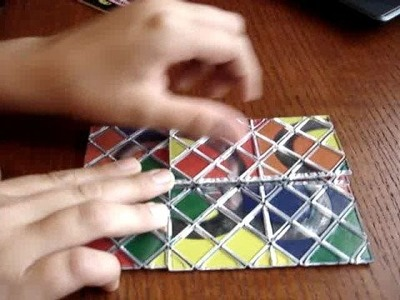 How to solve a Rubik's Magic (Beginner's Method)