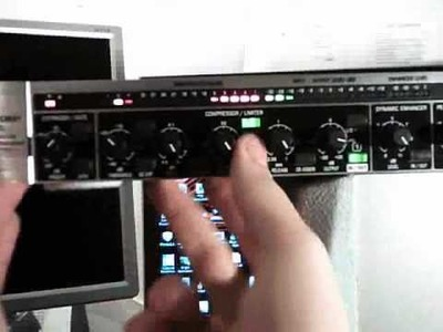 How to use an audio compressor