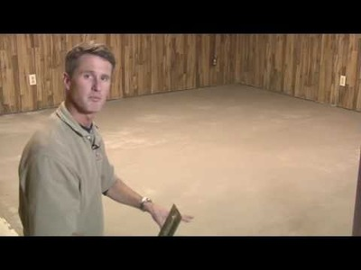 Installing Concrete Microtoppings - From Carpet to Stained Concrete - Part 4