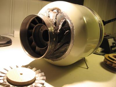 Jet engine FD3 scale 2:1 !