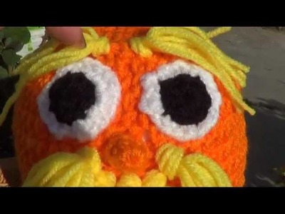 Lorax Character Beanie Tutorial - Left Handed