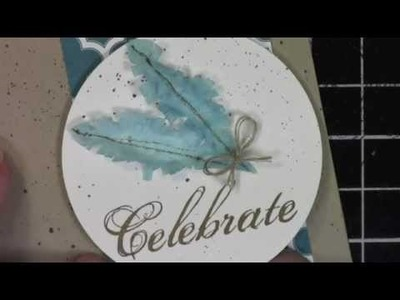 Making Feathers with Stampin' Up Blossom Petals Punch