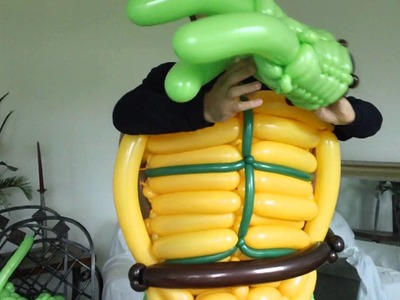 Ninja Turtle Costume Piece by Piece
