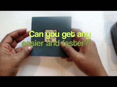 One Minute Card Designs - Week 2