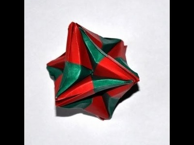 Origami - how to fold the Most Puzzling Christmas Decoration