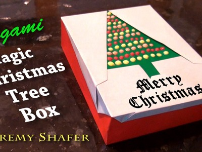 Origami Magic Christmas Tree Box