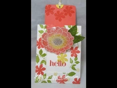 Pullout  frame Card www.frenchiestamps.com