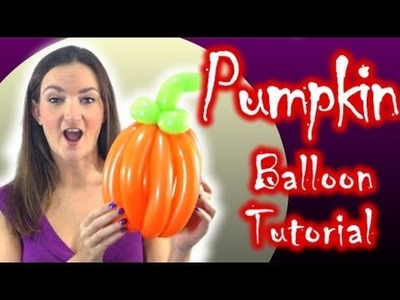Pumpkin Balloon How To - BONUS WEEKEND VIDEO!