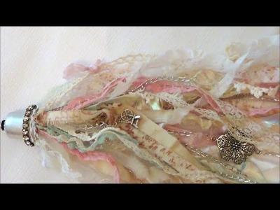 Shabby Chic Lace Tassel