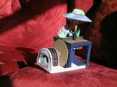 Solar Powered Paper Automaton