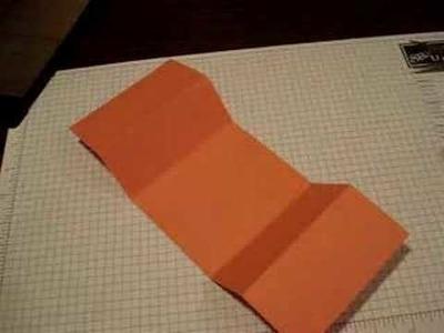 Tri Fold Card with Dawn Griffith