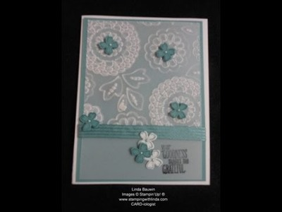 Vellum Something to Say Card