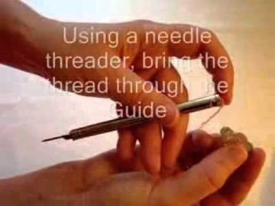 2 - Bunka Embroidery - Threading the Needle - BunkaCraft.com