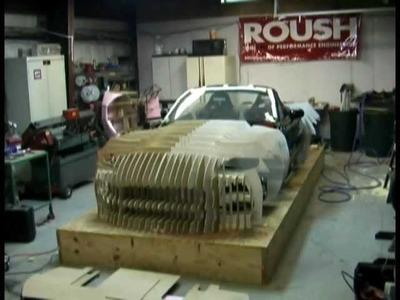 Bailey Blade Car Design | Building forms body buck - Part 1