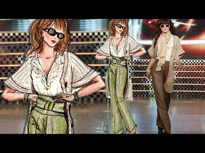 Basic Figure For Fashion Sketch: Advanced Fashion Design Drawing Tutorial