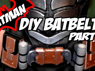 Batman Arkham Knight BatBelt How to DiY Costume Cosplay Part 8