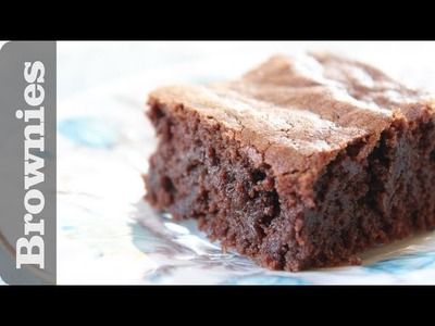 Best homemade brownies recipe from scratch!