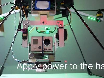Camera stabilization with hard disk drive gyroscope