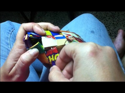 Candy Wrapper Purse Tutorial P4