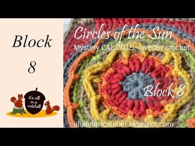 Circles of the Sun Overlay CAL Block 8