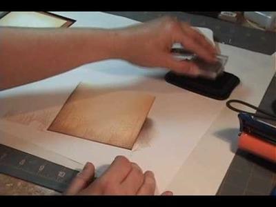 Crimped Envelope Pocket Card Tutorial