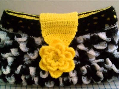 Crocodile Stitch Hand bag Variation 2