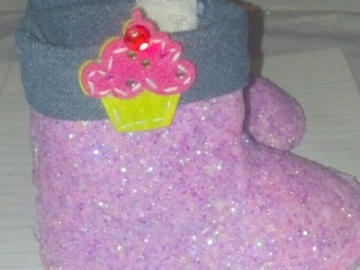 DIY: How To Make Glitter Boots