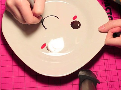 DIY Plate and Cup