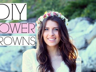 DIY Tumblr Flower Crowns