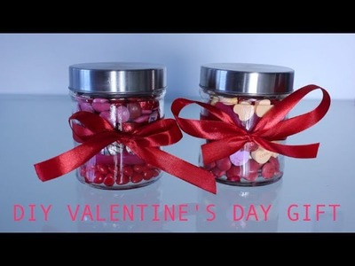 DIY Valentine's Day Gift: Jar of Love ♡