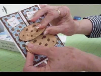 Gatefold Birthday Cookie Card