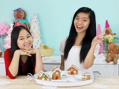 GINGERBREAD HOUSE CHALLENGE! (feat. my best friend)