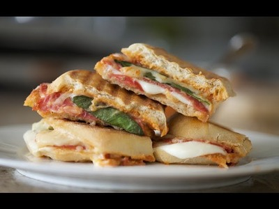 "Grilled Cheese ""Pizza"" 