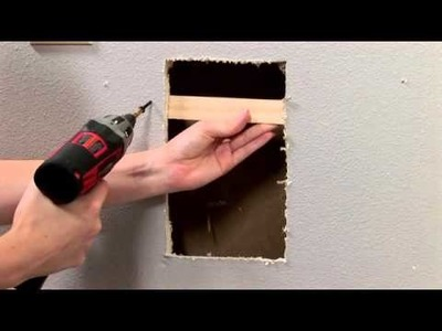 "HouseSmarts DIY ""We're Patching a Hole in Drywall"" Episode 100"