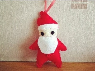 How to Make a Cute Santa Claus Plushie