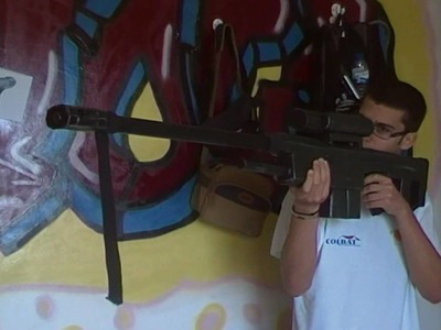How To Make A  Homemade Sniper Rifle Prop