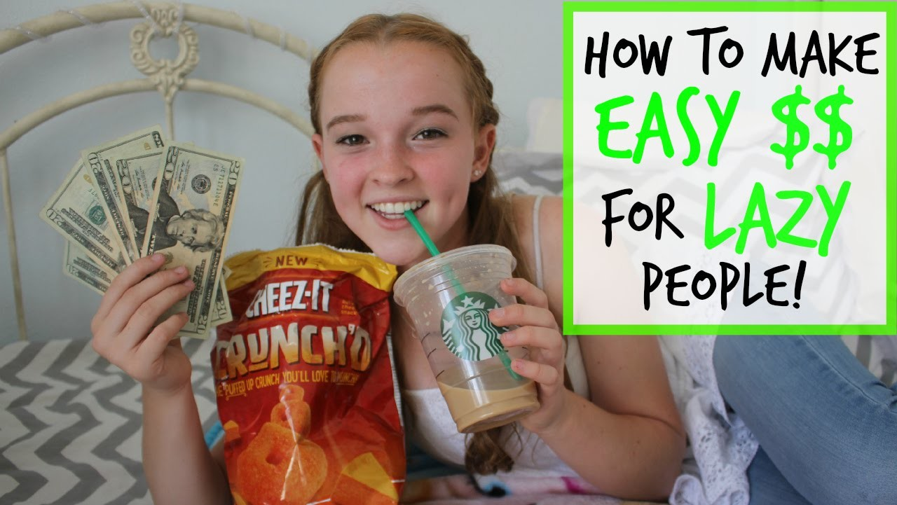 How to Make EASY Money for LAZY People!
