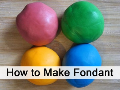 How to Make Fondant in Minutes