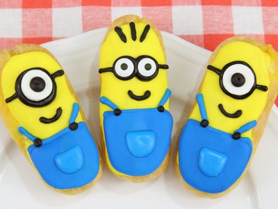 How to Make Minion Eclairs!