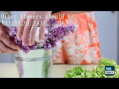 How to make the perfect bouquet