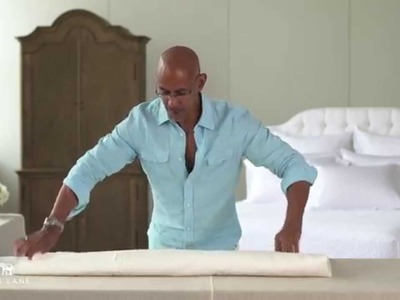 One Kings Lane: How to Fold a Fitted Sheet