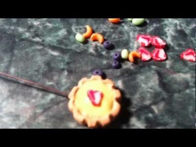 Ploymer Clay Fruit Tart