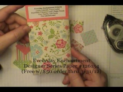 Sale-a-Bration Patchwork Get Well & Blossom Bouquet Punch Tip