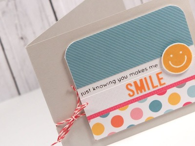 Smile Card - March 2014 Card Kit