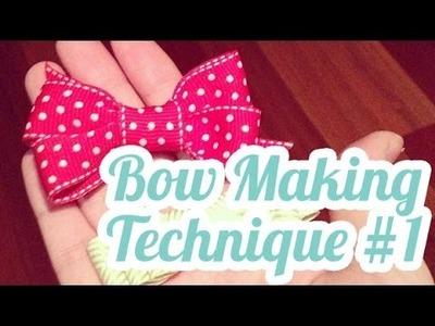 SP Episode 259: Bow Making Tutorial #1 for Card Making
